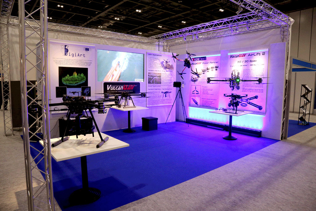 Image for Vulcan UAV at the Commercial UAV Show, Excel Centre, London 2015
