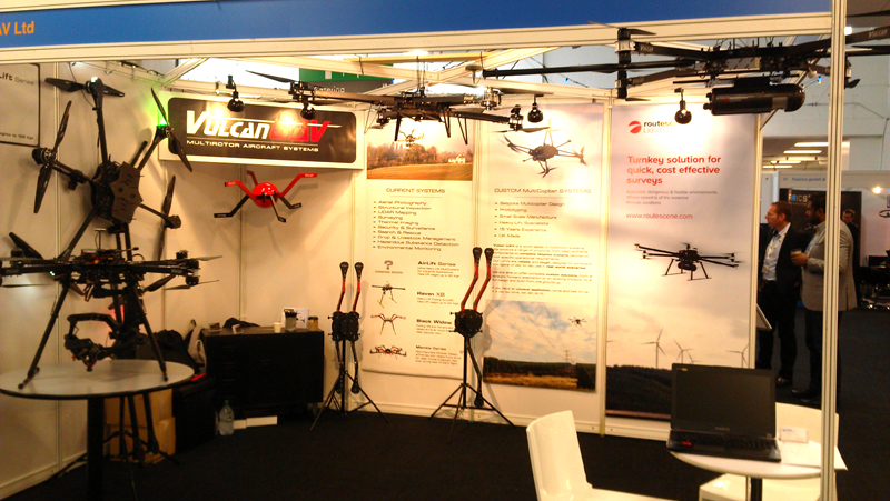 Image for Vulcan Attend the Commercial UAV Show, Olympia, London. October 2014