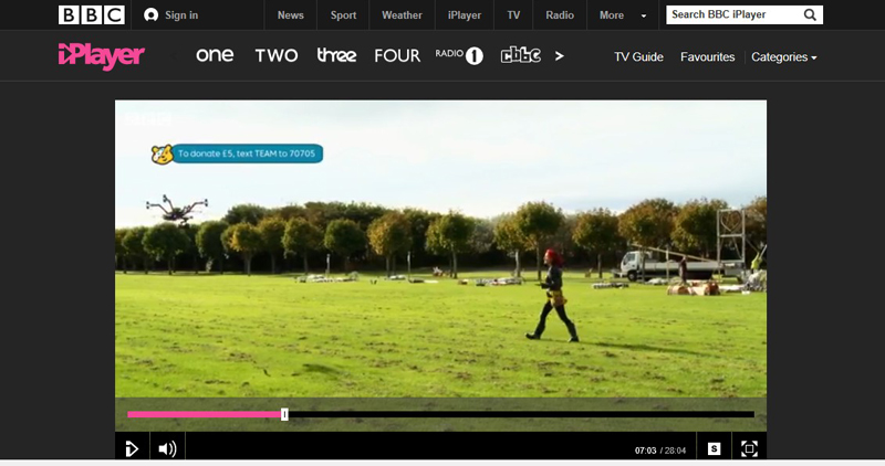 Image for Vulcan featured on the BBC One Show, flying through fireworks!