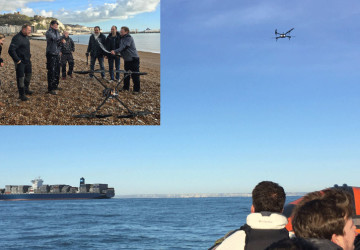 Image for First Ever English Channel Crossing by Drone!